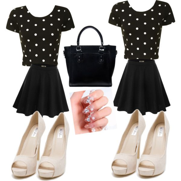 Untitled #10 by nyiaravalentine on Polyvore featuring polyvore fashion style Glamorous Doublju Nly Shoes JAY. M