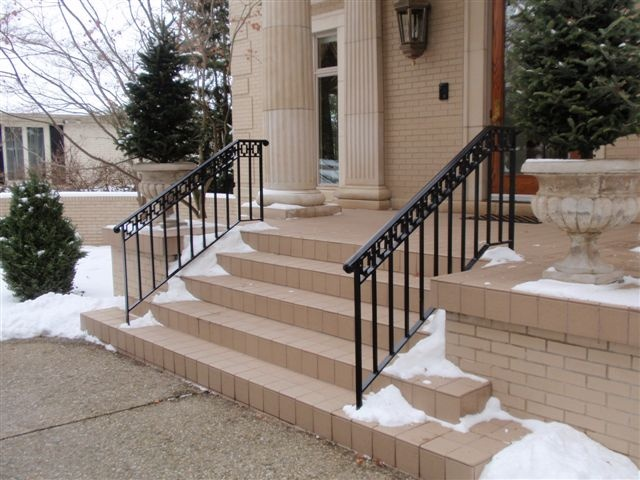 1000 Images About Ornamental Iron Railings On Pinterest