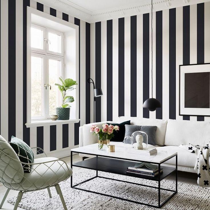 дизайн комнат стены в полоску фото хмельницкая призналась