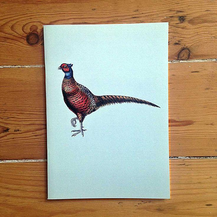 Pheasant notebook
