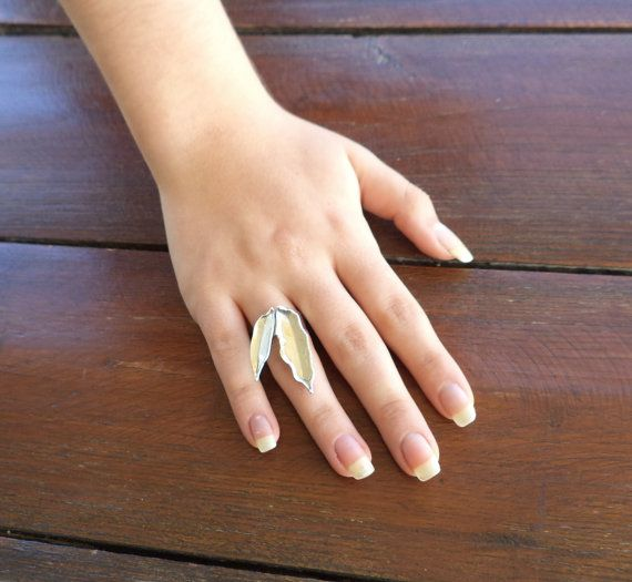 RING  handmade silver ring OLIVE by Vroullis on Etsy