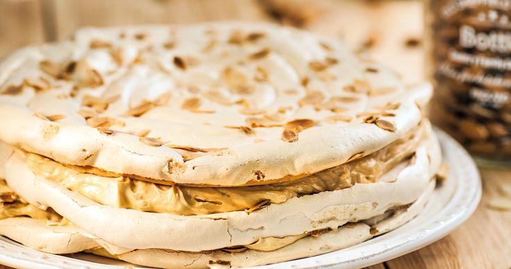 #tort bezowy. #beza #merengue #cake #desert #delektujemy