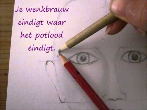 Cartoons Leren Tekenen - Na Teken Oefening 1 - YouTube
