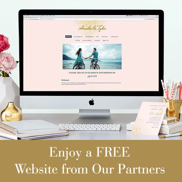 Free Wedding Websites - Get a Free Website for Your Wedding