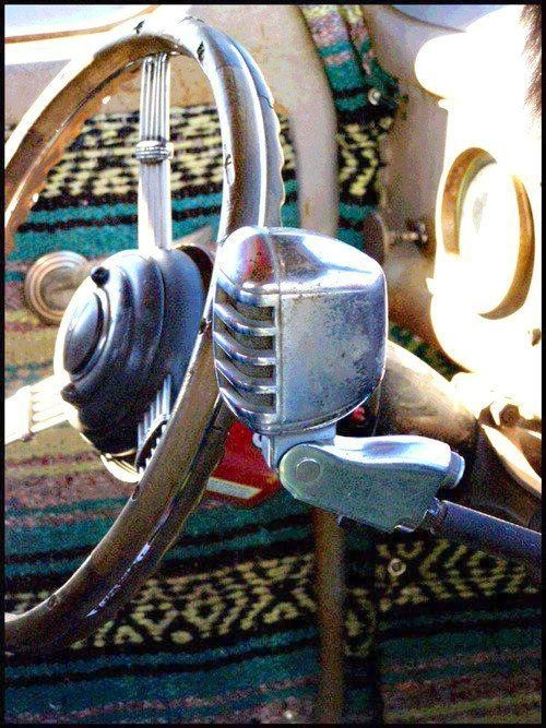 vintage mic as shifter