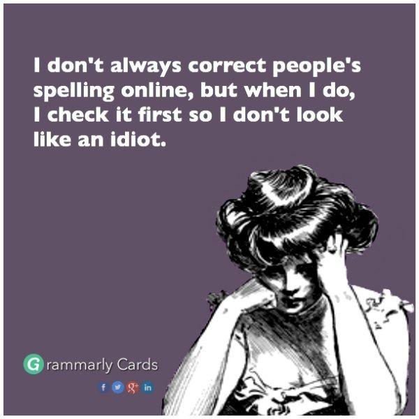 English online corrector