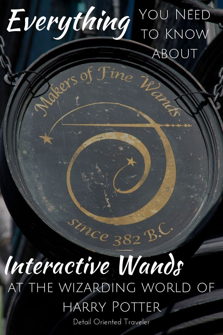 Everything You Need to Know about Interactive Wands at the Wizarding World of Harry Potter in Universal Studios