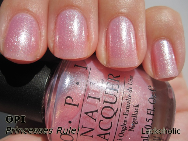 OPI Princesses Rule! - Such a lovely pale pink!
