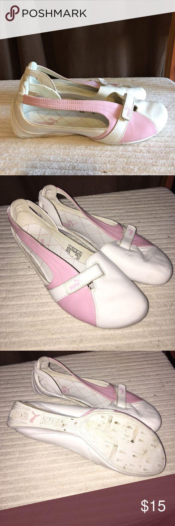 Puma casual shoes Gently worn Ladies Puma casual shoes. Size 7.5 Puma Shoes Athletic Shoes