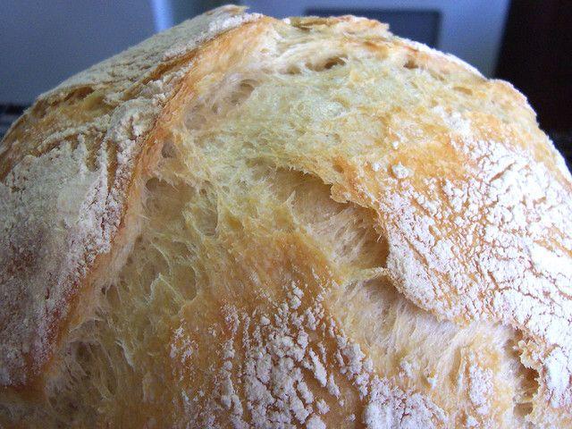 No-Knead Yeast Bread Recipe: Easy As Pie! (Easier, Actually | Recipe Bread & Dough | Yeast bread recipes, Bread recipes, No yeast bread