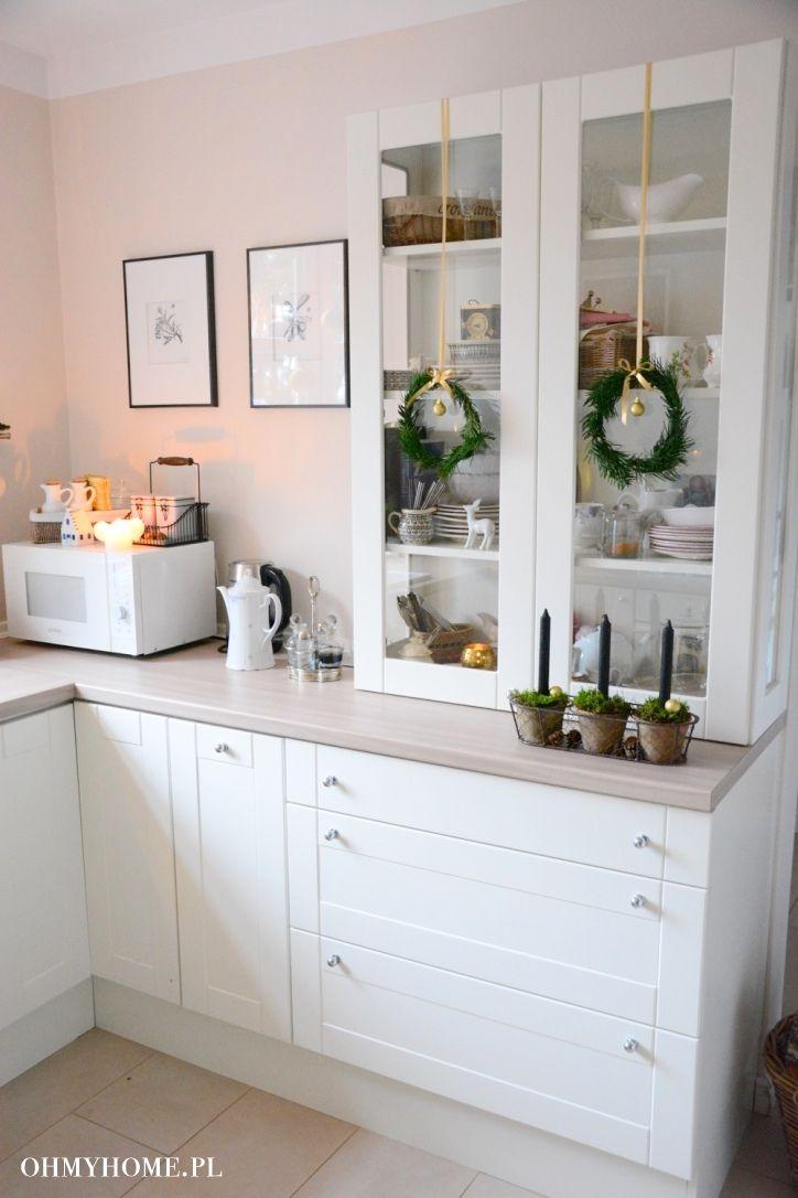 My kitchen http://oh-my-home.blogspot.com/2015/12/swiateczna-kuchnia.html