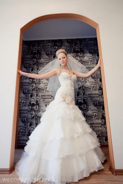 Свадебное платье эльза от оксаны мухи