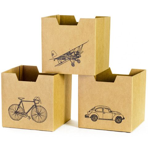 City Print Kids Storage Bins
