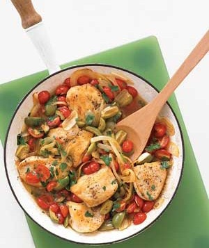 This is a delicious and healthyyouapproved chicken dinner that will satisfy the