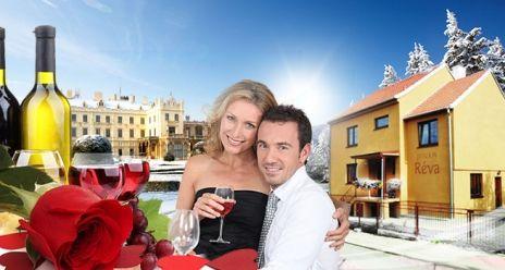 VALENTÝNSKÁ ROMANTIKA ve Valticích, hlavním městě vína! Romantický POBYT na 3 dny pro DVA se SNÍDANĚMI, luxusní VEČEŘÍ, welcome DRINKEM, vstupem do BAZÉNU, SAUNY a návštěvou vinného SKLÍPKU jen za 2599 Kč! Lahev VÍNA zdarma!  Cena 4600 Kč, po slevě 43 % 2599 Kč   http://www.slevnicka.cz/sleva/valentynska-romantika-ve-valticich-hlavnim-meste-vina/4416433