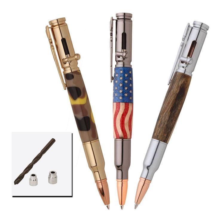 3 Bolt Action Pen Kit Starter Pack