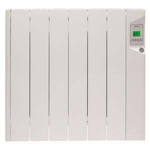 DUCASA - 0.636.267 _ Radiateur mural à fluide caloporteur à hautes propriétés thermodynamiques pour une chaleur uniforme et enveloppante - Corps de chauffe en aluminium - Régulation électronique de haute précision ± 0,1°C - Utilisation intuitive grâce à l'écran LCD - Programmation par fil pilote 6 ordres - Verrouillage Enfant - Quick System - Normes NF Electricité.