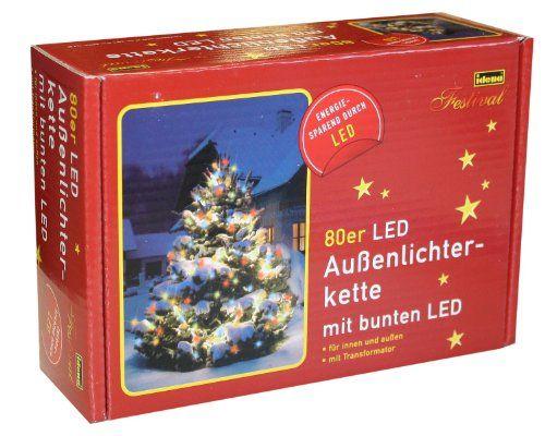Awesome Christbaumbeleuchtung Led Lichterkette er au en bunt Idena TOP Qualit t und Super