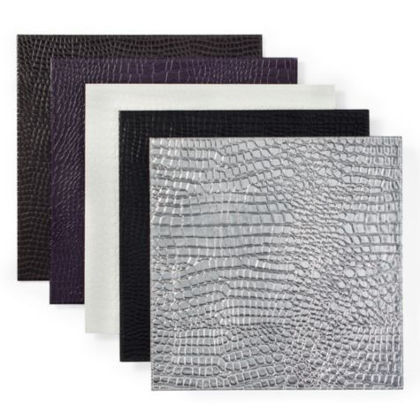 Everglades Placemat Sets Of 4 From Z Gallerie Place Silver Under Clam Shell On Vanity Table My New Home Pinterest Tables