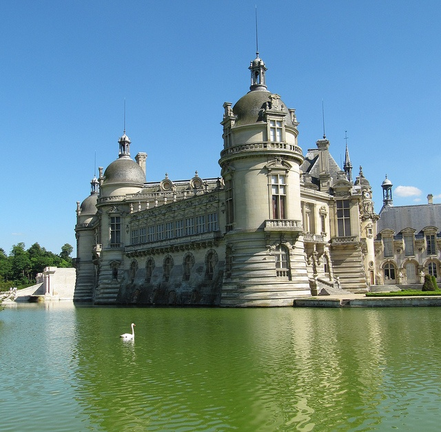 Chateau de chantilly outside paris france the exterior is much altered as it was destroyed - Chateau de chantilly adresse ...