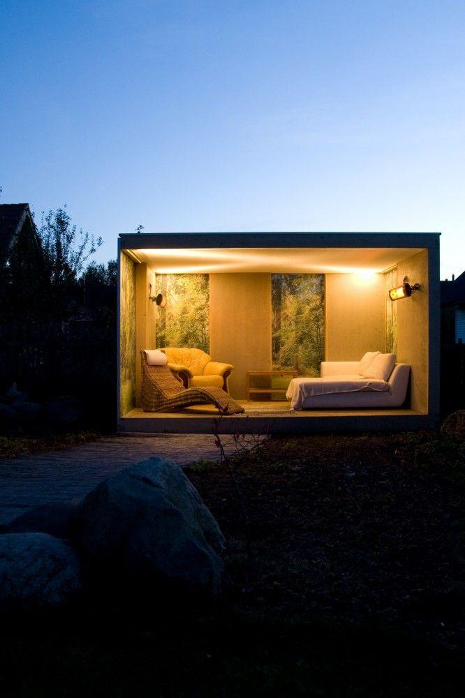 Tuinpaviljoen - overkapping Cube - Product in beeld - Startpagina voor tuin ideeën | UW-tuin.nl