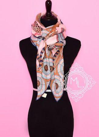 Hermes, Savana Dance Cashmere scarf