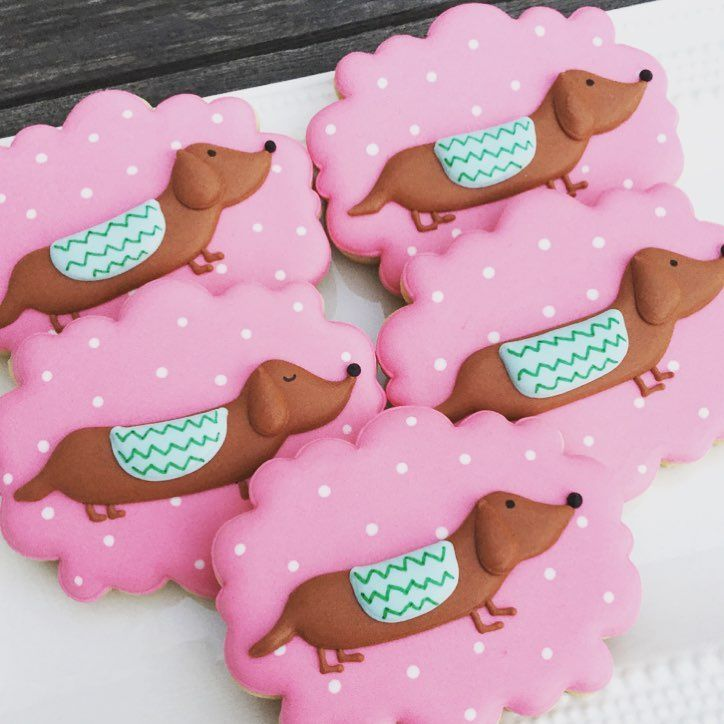 Sausage Dog Cookies The New Unicorn Dog Cookies Animal