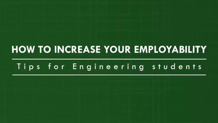 How to Increase Your Employability: Tips for Engineering students. http://bit.ly/1JL7std ‪#‎learnengg‬ ‪#‎engineering‬ ‪#‎skills‬