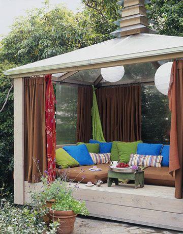 Outdoor Cabana.