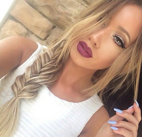 Imagem de hair, makeup, and beauty