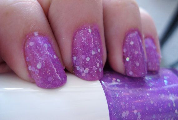 Serendipity IS My Stripper Name Custom Neon Purple: Nails Ect, Custom Neon, Nails Art, Purple Jelly, Polish Blend, Neon Purple, Glitter Nails Polish, Jindi Nailspolish, Jindi Nails Polish