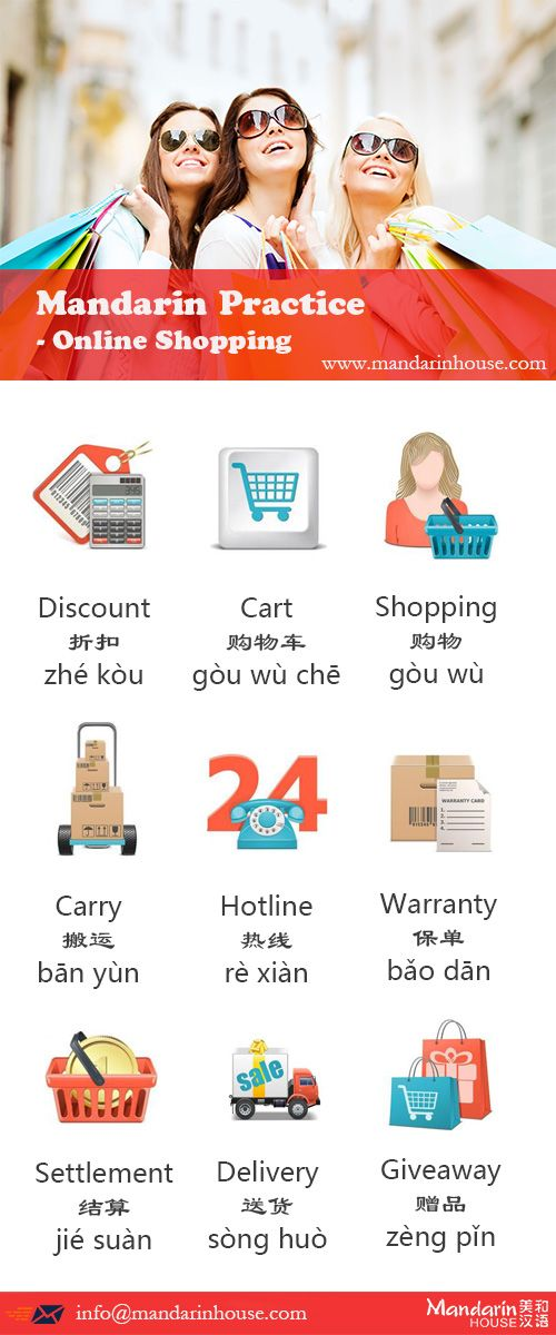 Online Shopping in Chinese.For more info please contact: bodi.li@mandarinhouse.cn The best Mandarin School in China.