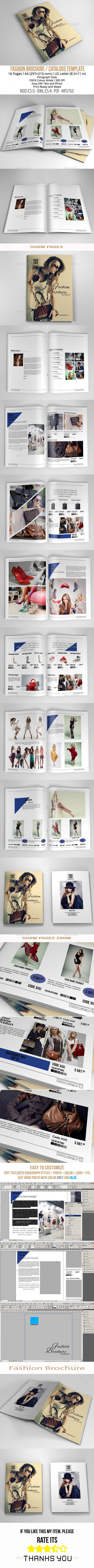 Fashion Brochure A4/US Letter