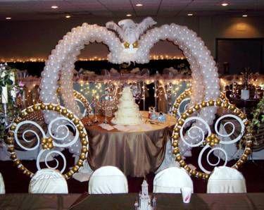 Cinderella Cake Table At A Wedding