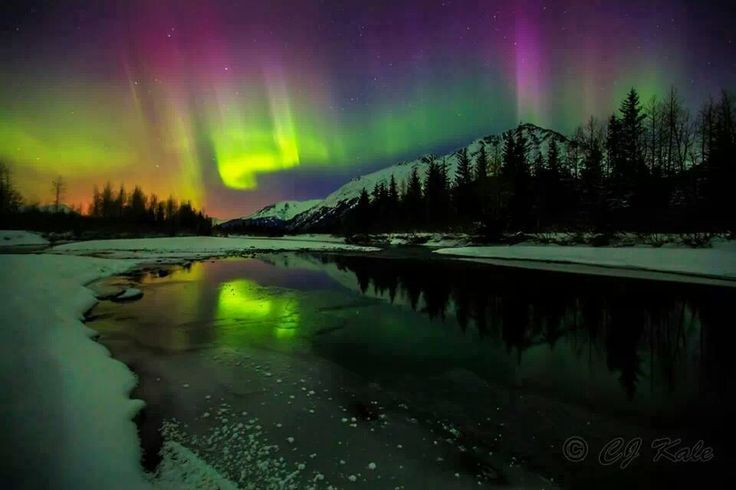 Alaska Night Sky | Photos | Pinterest | Night, Night skies ...