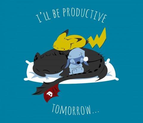 Slumber Party | Pokemon | Pikachu | Lilo and Stitch | How to Train Your Dragon | TeeFury