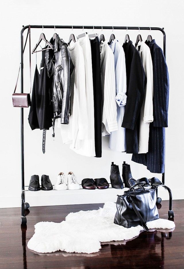 12 Absolutely Beautiful Makeshift Closets | WhoWhatWear