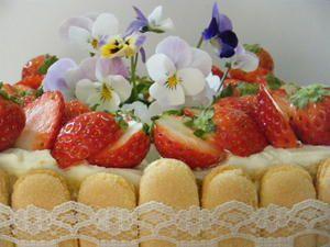 いちご畑のデコレーションケーキ : Heartful Sweets