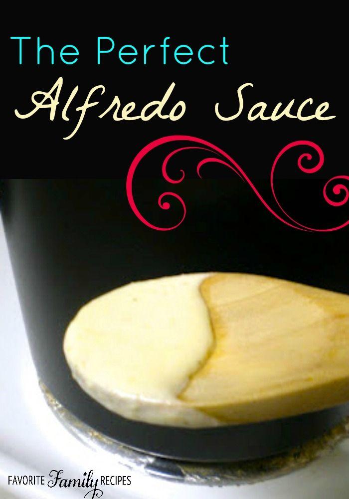 Easy Alfredo Sauce Recipe -
