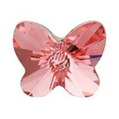 PEACH ROSE BUTTERFLY  www.mycharminglockets.ca  #SHD #southhilldesigns @byjanehedges