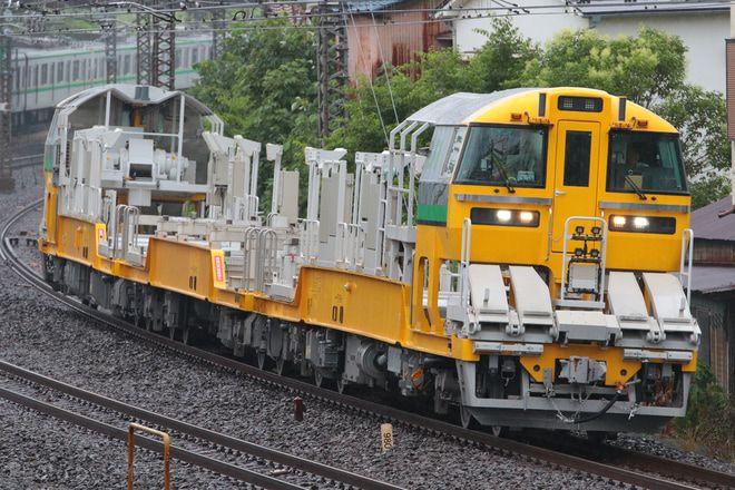 2018年6月11日より 小牛田運輸区所属のレール輸送車両キヤe195系lt 1編成 3 10号車欠車 が 関東地区での試運転を開始しました 鉄道 鉄道 写真 機関車