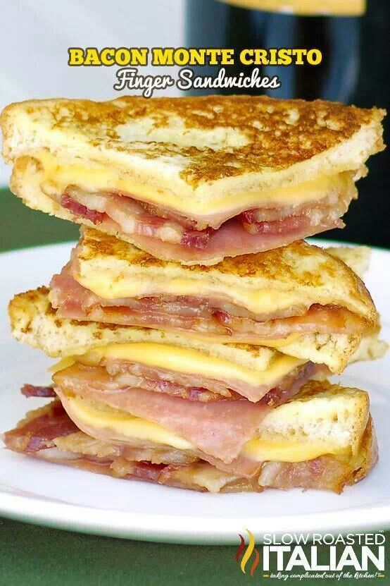 Monte cristo sandwich | Food | Pinterest