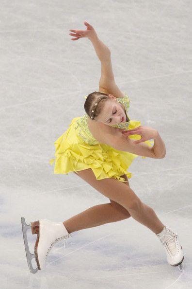 Polina Edmunds. ISU World Figure Skating Championships 2014