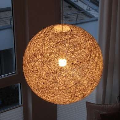 How Do I Make A Light Shade Out Of String Glue And A Balloon 109