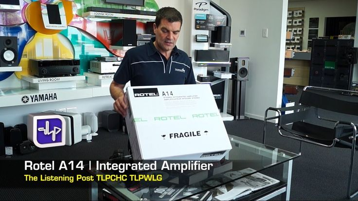 Unboxing Rotel A14 Integrated Amplifier First look | The Listening Post ...