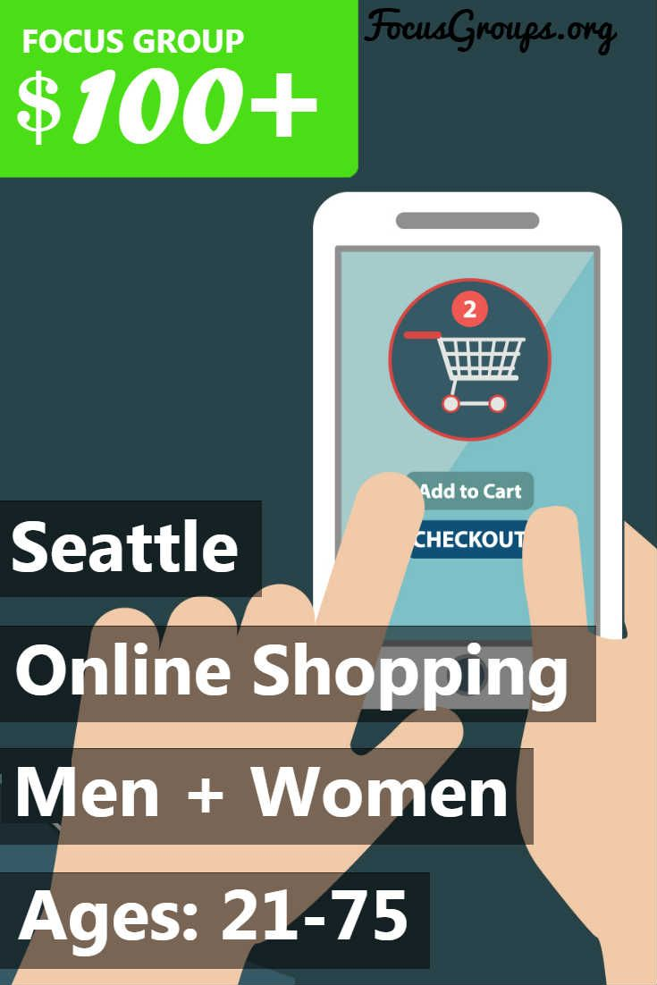 Consumer Opinion Services - Seattle is seeking men and women between the ages 21-75 years to participate in an upcoming market research study to get their opinions on how they shop. This would be a 60 minute interview or a 2 hour focus group being held in Seattle on Tuesday March 13th. For your participation you would be paid $100.00 for the interview or $125.00 for the focus group. If you are interested in participating, please sign up and take the survey to see if you qualify! Because of…