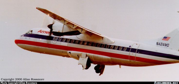 ATR ATR-42-300 - American Eagle | Aviation Photo #0131266 | Airliners.net