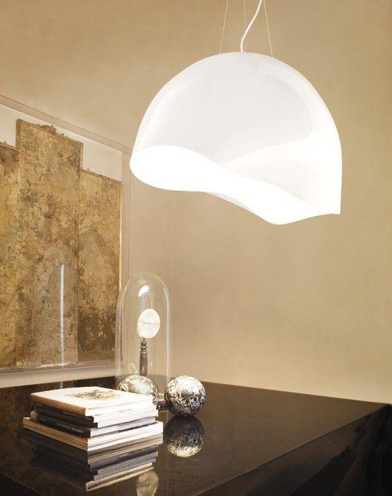 Lampy do salonu Vistosi  Ninfea SP G - Vistosi - lampa wisząca    #salon #living_room #lamp #Abanet_Kraków #Vistosi