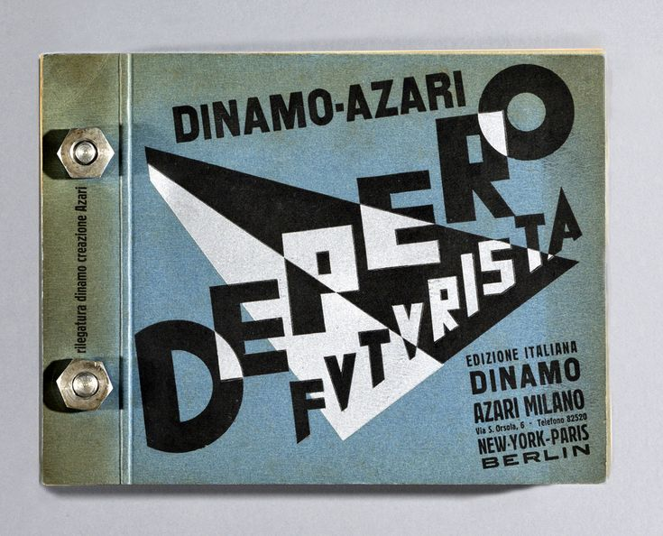 Every Page of Depero Futurista, the 1927 Futurist Masterpiece of Graphic Design & Bookmaking, Is Now Online |  Open Culture