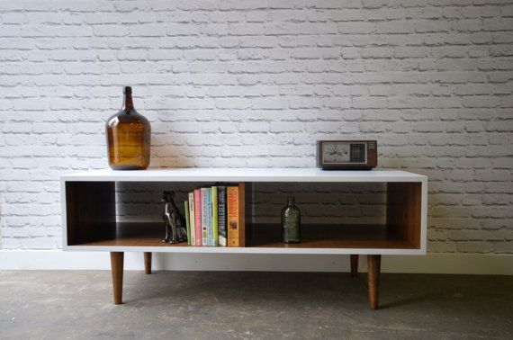Danish Modern TV Stand by WoodLoveEtc on Etsy